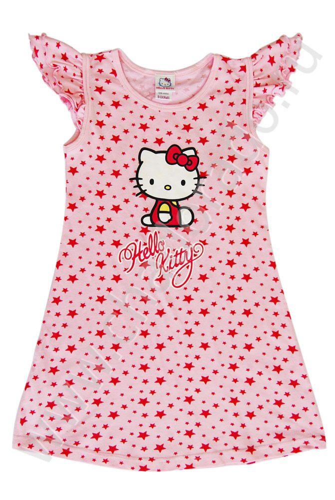52b86d774a7d507 Ночная сорочка Хелло Китти розовая / Ночная..