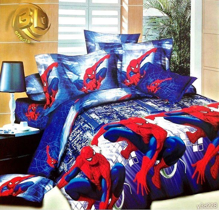 1 5 спальное постельное белье человек паук: