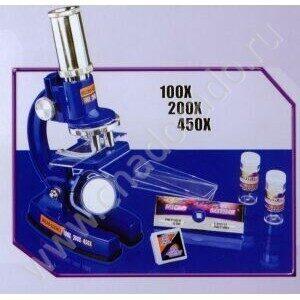 Микроскоп детский Eastcolight. Набор исследователя с микроскопом из 23 предметов