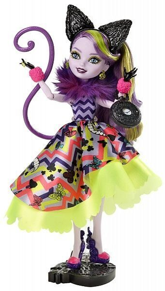 Ever After High Way Too Wonderland Kitty Chesire Doll_9_mini