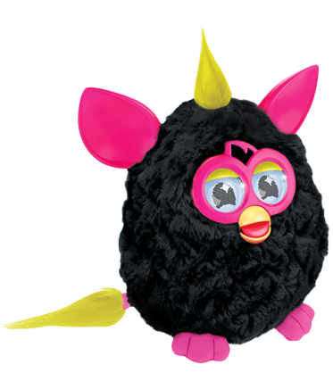 Furby_Black-Pink_Side