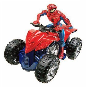 Человек паук на мотоцикле купить игрушку