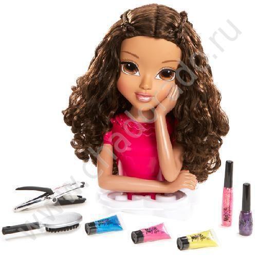 Купить торс куклы для причесок и макияжа