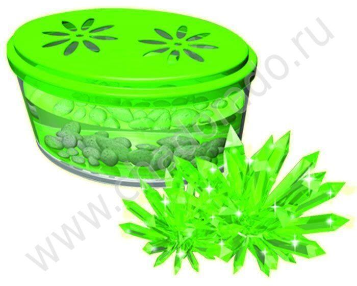 Набор для выращивания кристаллов. Кристаллы - цвета в ассортименте