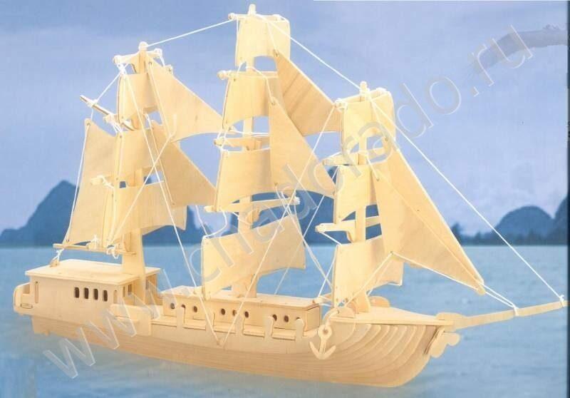 Модель кораблика своими руками