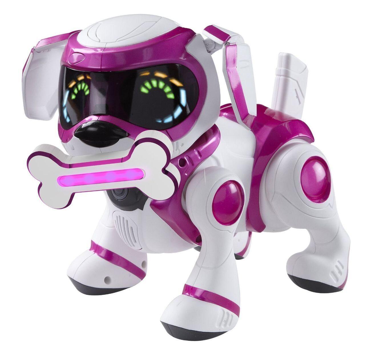 Текста интерактивная собака розовая