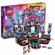 Конструктор LEGO FRIENDS Поп звезда: сцена с Андреа и Ливи / Лего