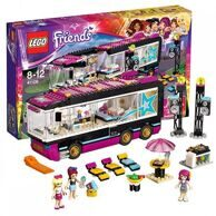 Конструктор LEGO FRIENDS Поп звезда: гастроли с Ливи, Стефани и Мией / Лего Подружки