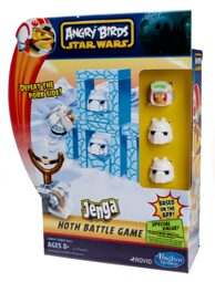 Игра Anrgy Birds Star Wars Jenga Сражение / Дженга Энгри Бердс