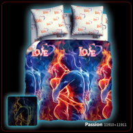 "КПБ 1,5 Passion / Биоматин ""UNISON"" NEON COLLECTION"