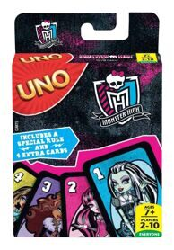 Игра карточная Уно Школа Монстров UNO / Monster High